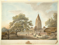 The temple in the Fort at Sambalpur (Orissa).